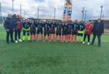 Photo of فريق كرة القدم النسوية يحتفل باليوم العالمي للمرأة