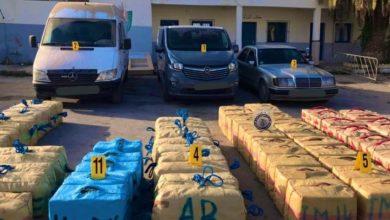 Photo of الناظور/ إحباط محاولة للتهريب الدولي للمخدرات وحجز أربعة أطنان و779 كلغ من مخدر الشيرا