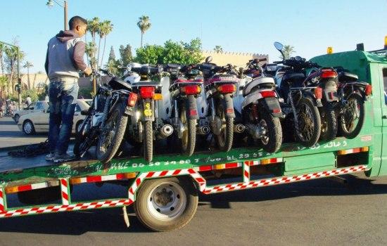 Photo of السلطات الأمنية بمريرت تقوم بحملة ضد أصحاب الدراجات النارية