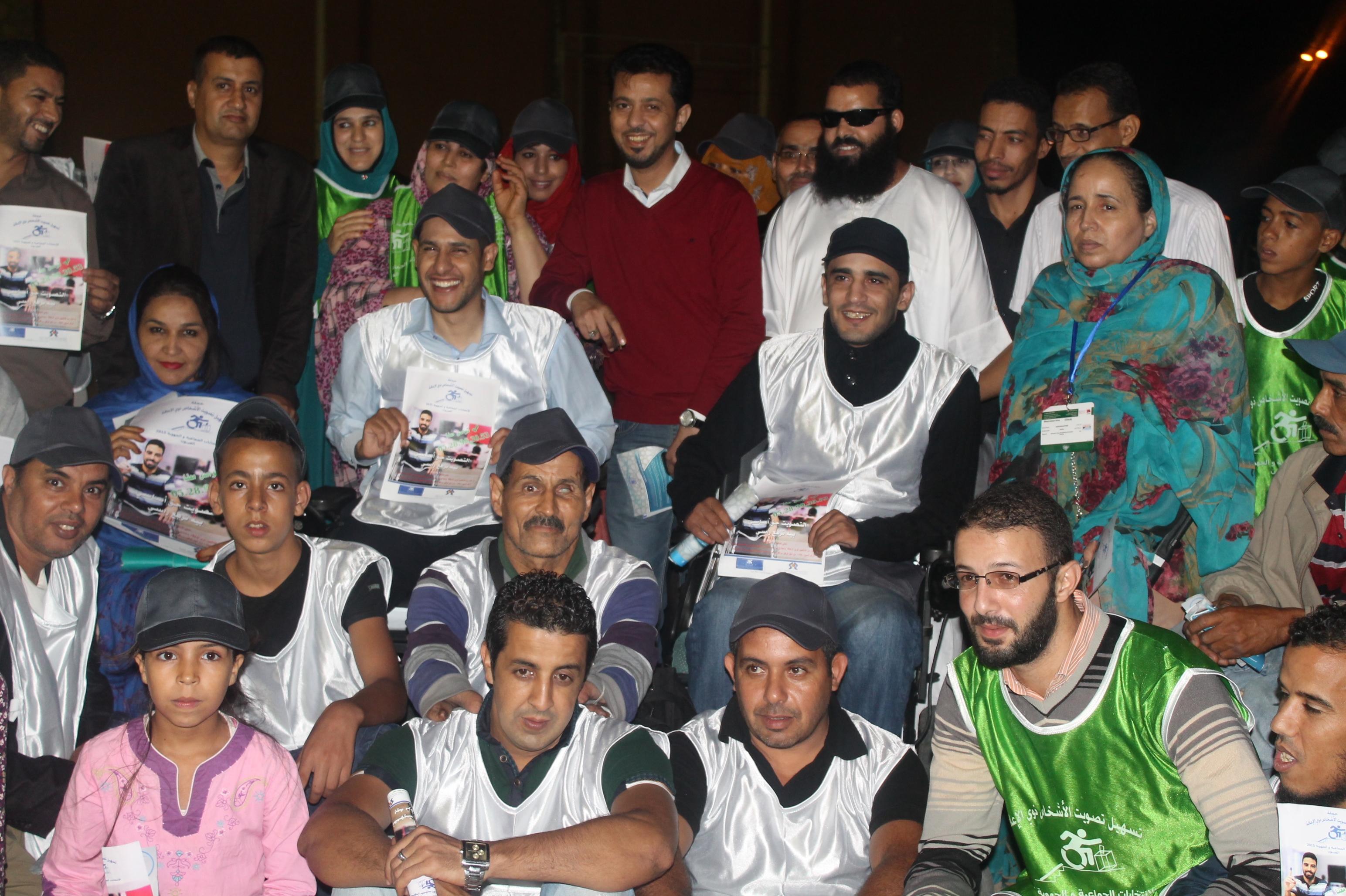 Photo of حملة تسهيل تصويت الأشخاص ذوي إعاقة بالعيون
