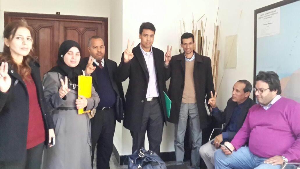 Photo of عـــاجل .. أعضاء مكتب النقابة الوطنية لوكالة التنمية الاجتماعية يخوضون اعتصاما