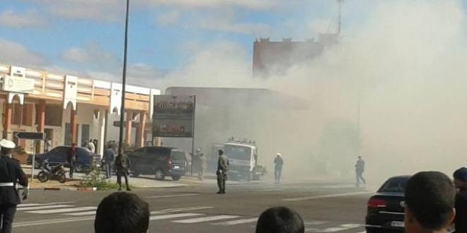 Photo of كلميم – حريق محطة بيع الوقود يدق ناقوس الخطر ..!