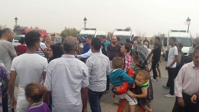 """Photo of من قلب الرحامنة .. حقوقيون يطالبون برحيل الرميد و المحكمة تؤجل قضية """"خديجة"""