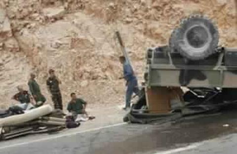 Photo of حادثة مروعة ضحياها عسكريون