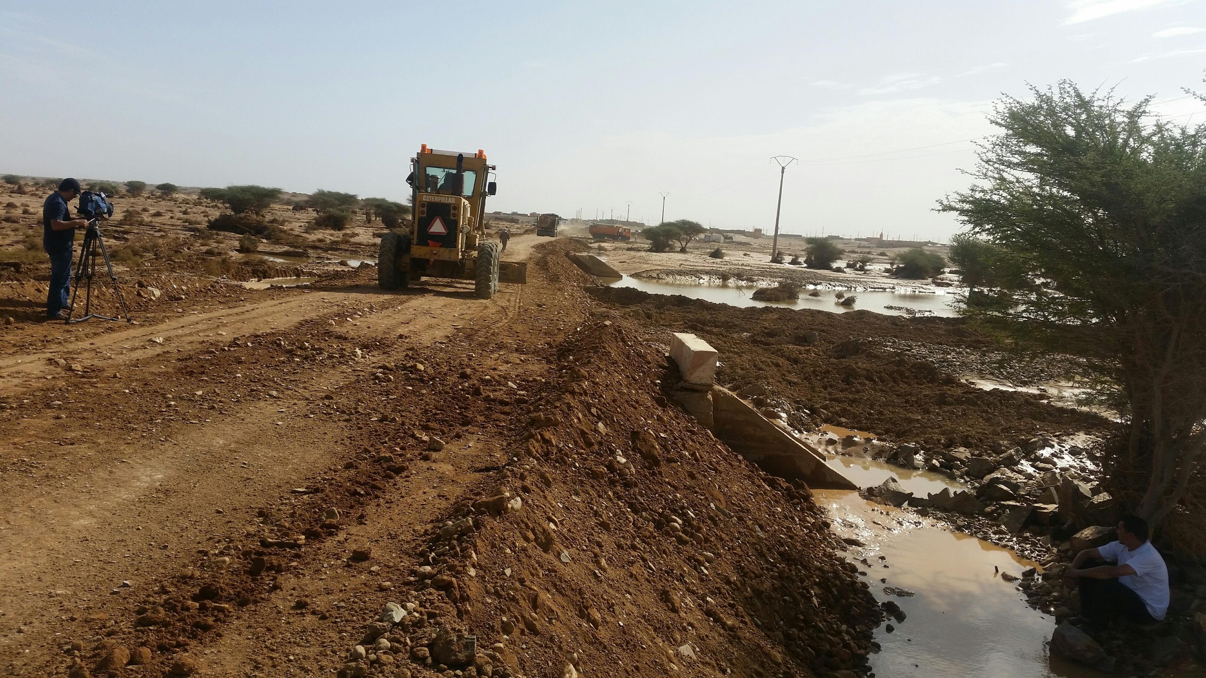 Photo of من مخلفات الأمطار الغزيرة بالسمارة