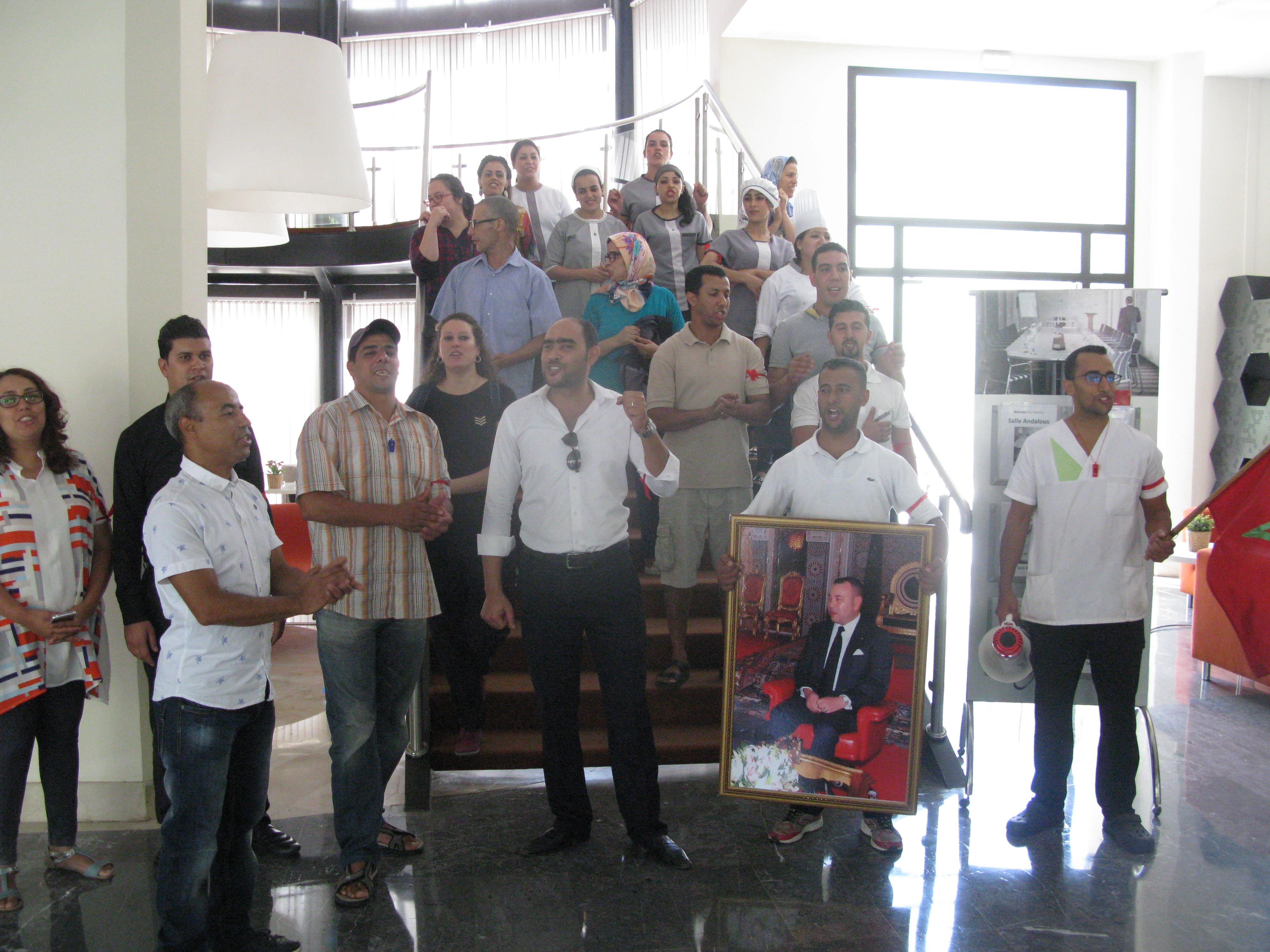 Photo of من الاحتجاج إلى إضراب مفتوح بفندق بارصلو بفاس