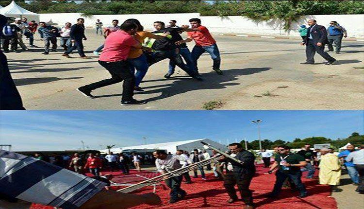 Photo of الصحون الطائرة في مؤتمر حزب الاستقلال ..!