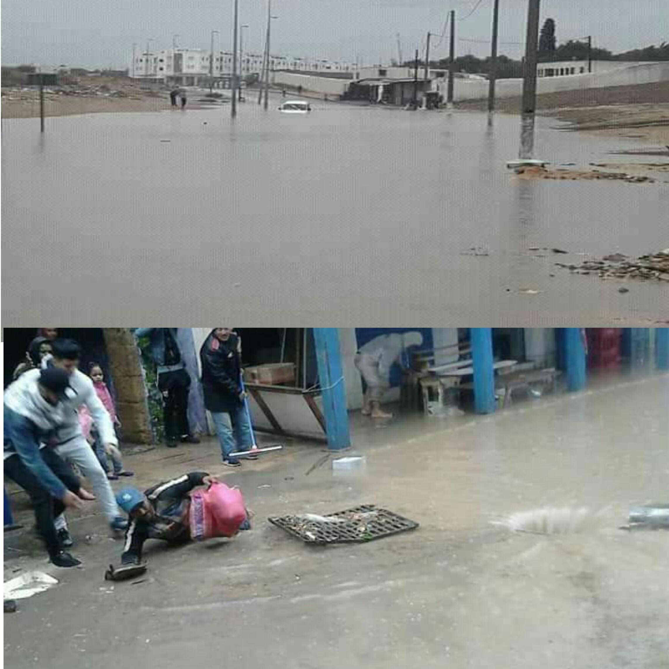 Photo of الأمطار تعري واقع هشاشة البنية التحتية بغالبية المدن المغربية