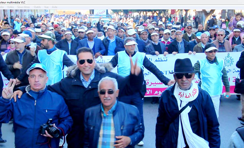 Photo of مسيرة الكرامة للتنديد بالعنف بحق المدرسين