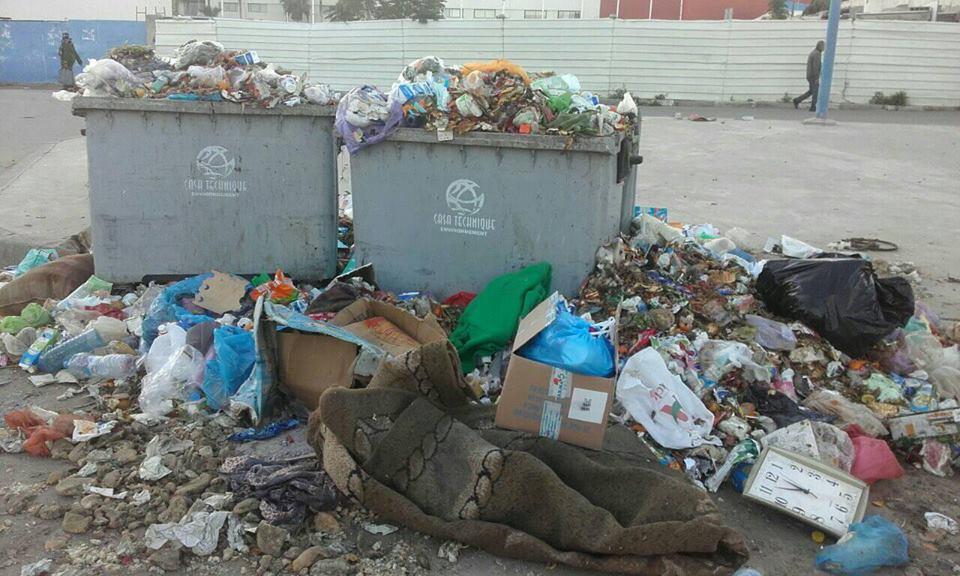 Photo of أسفي / شركة النظافة تحول أزقة المدينة إلى مزبلة