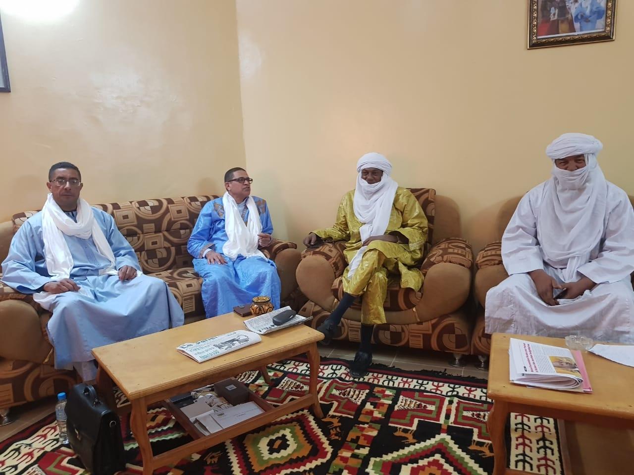 Photo of وفد من جهة مراكش أسفي في زيارة لجهة أكاديز بالنيجر