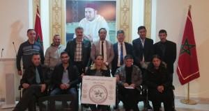 Photo of النقابة المستقلة للصحافيين المغاربة تشارك في مراسم تشييع جنازة والدة الزميل عبد الصمد بلعزيز