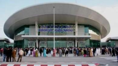 Photo of وجدة /  طائرة على متنها 105 مواطنا مغربيا تصل إلى مطار وجدة أنگاد
