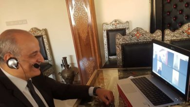 Photo of رئيس الجامعة الملكية للريكبي السيد إدريس بوجوالة يعقد اجتماعا عن بعد