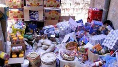 Photo of وجدة / حجز الأطنان من المواد الغذائية والسلع الاستهلاكية منتهية الصلاحية