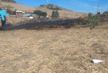 Photo of جماعة عين الدفالي / حريق يأتي على عشرات من رزم التبن (بالة)